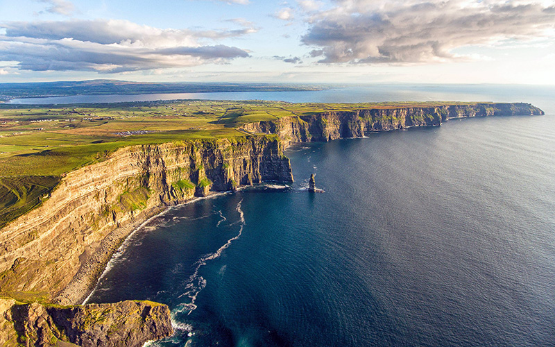 The Cliffs of Moher on the Wild Atlantic Way